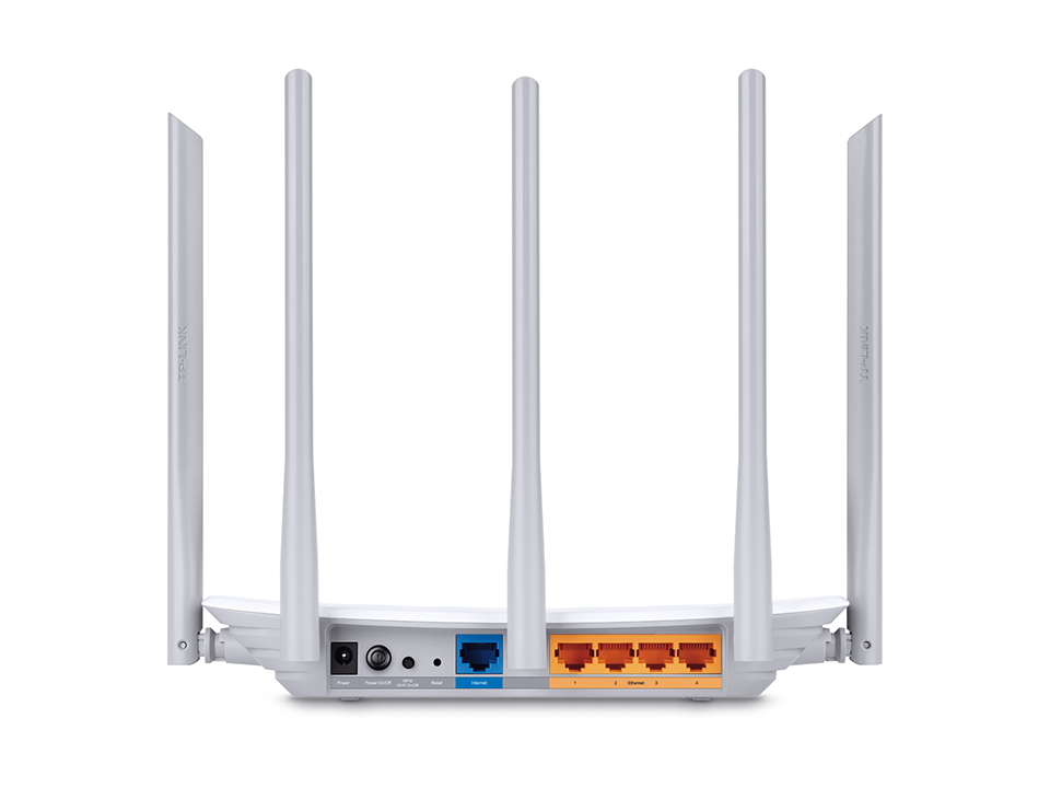 TP-Link Archer C60 AC1350 Wireless Dual Band Router, 3way