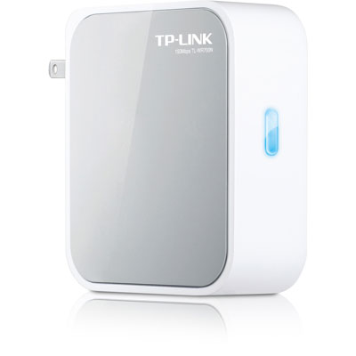 TP-Link TL-WR700N(US) 150Mbps Wireless N Mini Pocket Router, Atheros